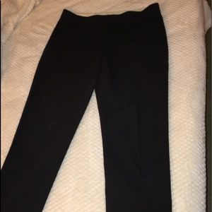 Theory Black Capri Pants Sz 4